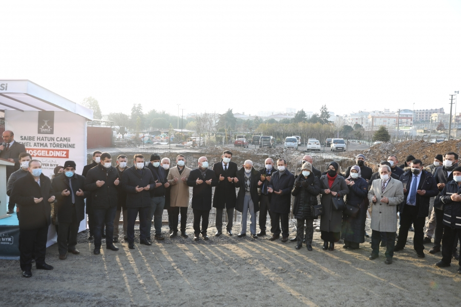 NENEHATUN'DA ÖNCE CAMİ, SONRA KENT PARK!