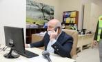 BAŞKAN BIYIK, GELEN TELEFONLARA CEVAP VERDİ