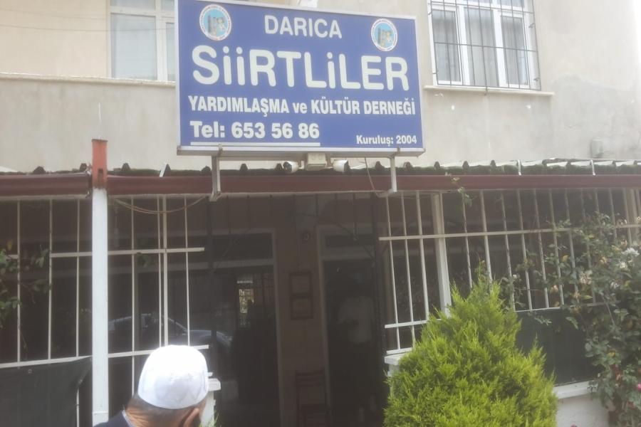 DARICA'DA DERNEKLER DEZENFEKTE EDİLİYOR
