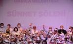DARICA'DA 500 ÇOCUK ERKEKLİĞE İLK ADIMI ATTI